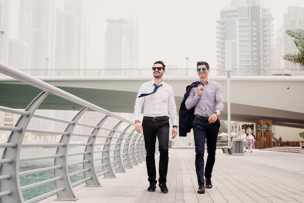 אנשי עסקים בדובאי
