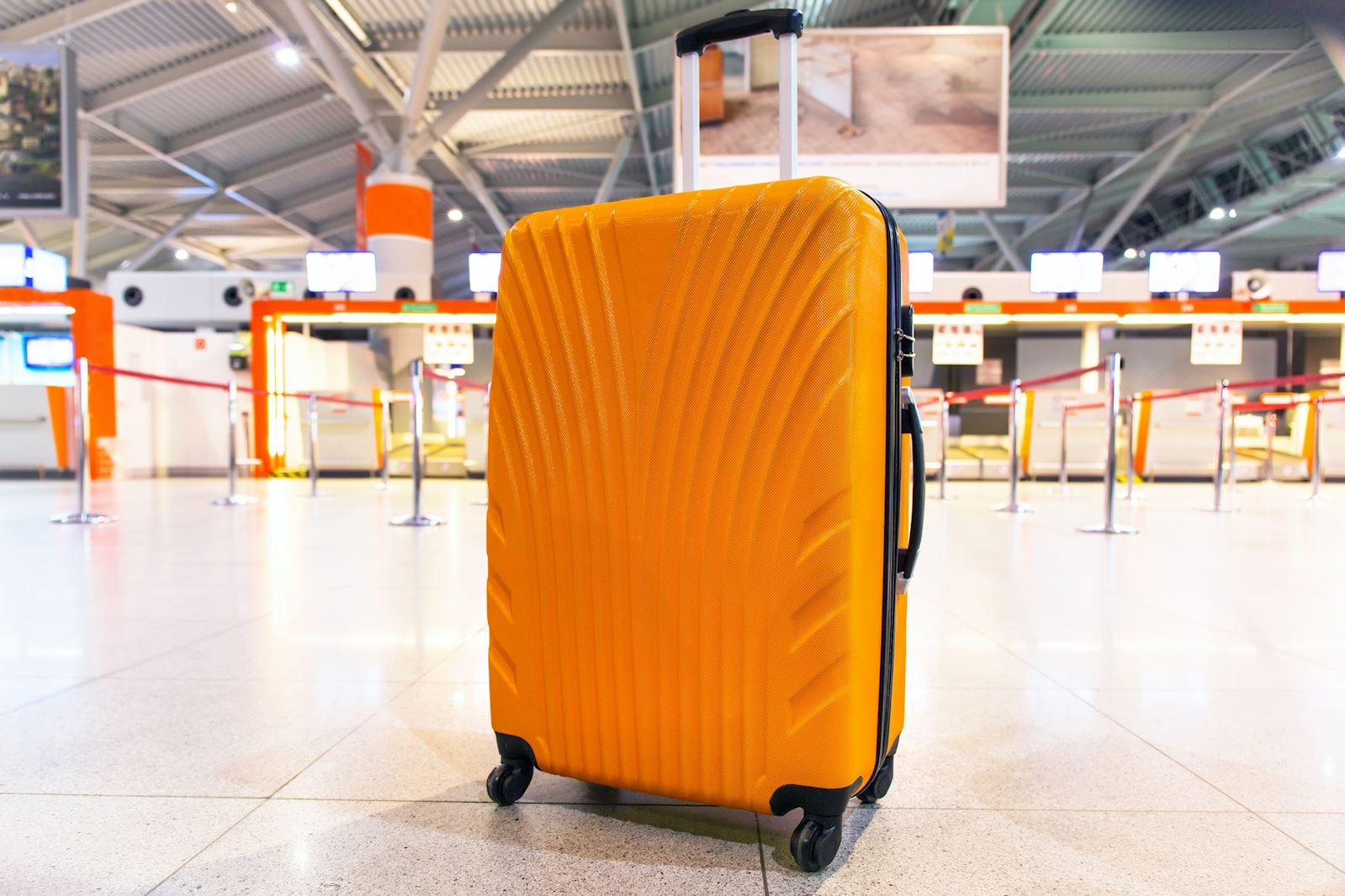 מזוודה בשדה התעופה