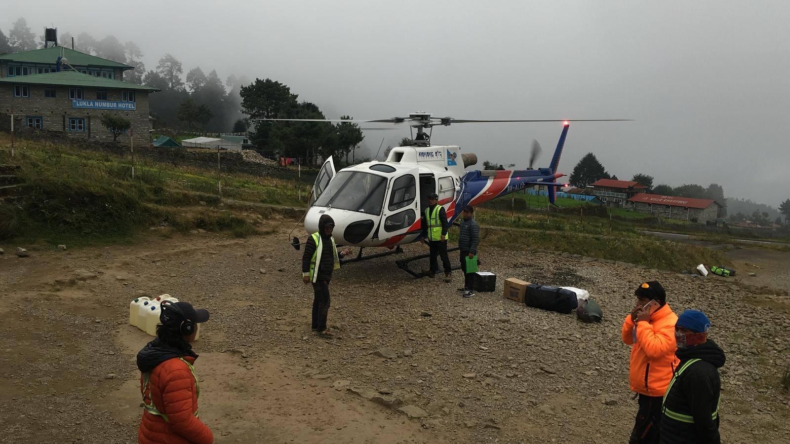 חילוץ כפול בנפאל (צילום: Magnus)