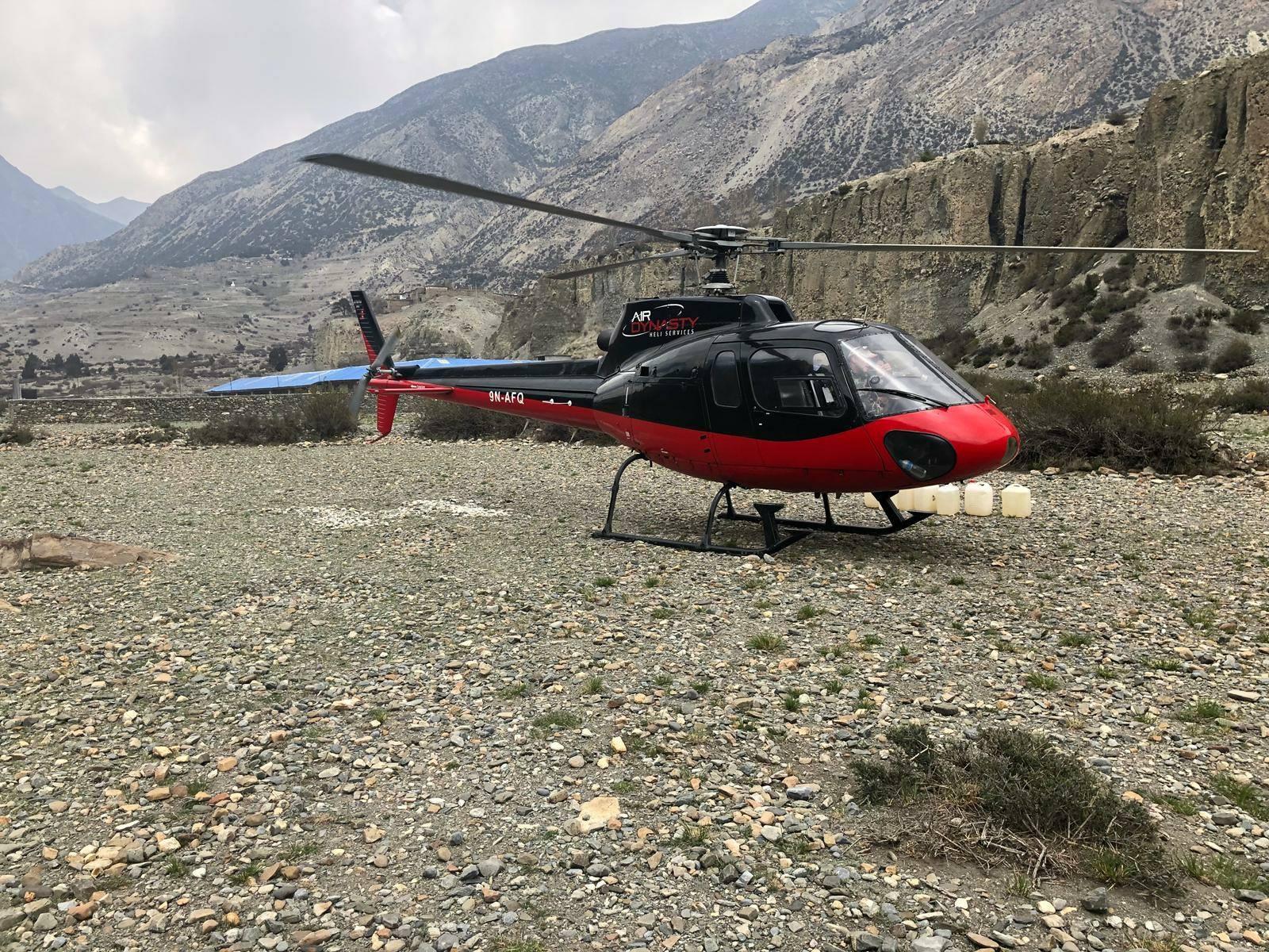 חילוץ משולש בנפאל (צילום: Magnus)