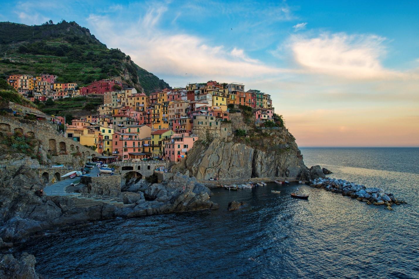 הפסטורליות והציוריות של חופי איטליה