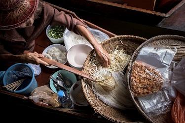 אוכל תאילנדי בבנגקוק